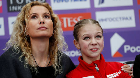 Alexandra Trusova breaks silence on exit from Tutberidze camp