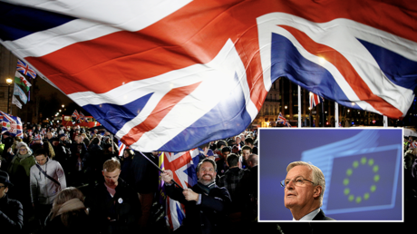 UK blames EU's 'ideological approach' while Barnier berates London for being stuck in 1970s as Brexit trade talks stutter