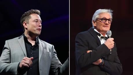 (L) Elon Musk © AFP / David Mcnew; (R) Sir James Dyson © Getty Images / BFC / Stuart Wilson