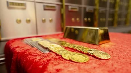 FILE PHOTO: Merrion vaults in Dublin © AFP / Paul Faith