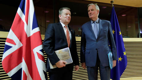 EU negotiator says UK 'not automatically entitled to any trade benefits'