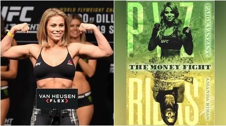 UFC star Paige VanZant. © Zuffa LLC / Getty Images | Instagram @paigevanzant