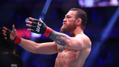 Conor McGregor named his MMA GOATs. © Reuters / USA Today Sports