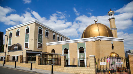 FILE PHOTO: a North London mosque.