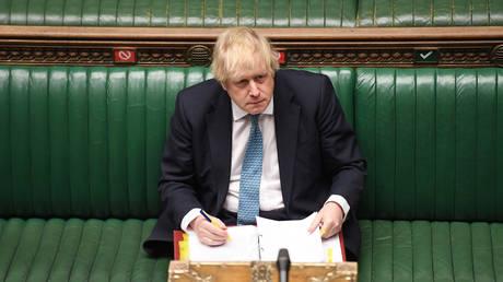 Boris Johnson © UK Parliament / Handout via Reuters / Jessica Taylor