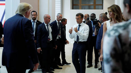 Trump, Macron agree G7 meeting should be held in person, White House says