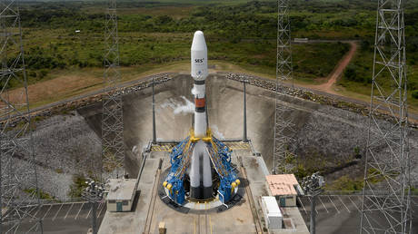 Toxic vapor leak discovered at Russia's space booster in French Guiana
