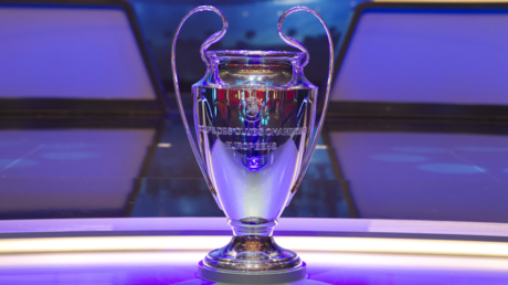 The Champions League trophy. © Imago-images / Global Look Press