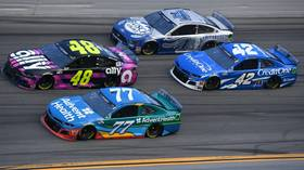 Pedal to the metal: NASCAR set to speed back onto the track with SEVEN races in 11 days