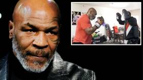 'I'm back': Mike Tyson teases comeback as former champ demonstrates fearsome SPEED and POWER in Instagram montage (VIDEO)