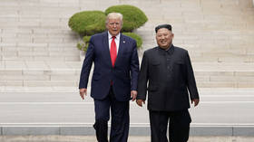 'I'm glad to see he is back & well!' Trump welcomes Kim Jong-un's public reappearance after weeks of death rumors