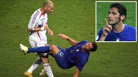 'I'd prefer your sister': Marco Materazzi DEFENDS taunt against Zidane's family that led to infamous World Cup final headbutt