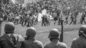 50 years ago today US troops massacred antiwar protesters at Kent State. Now, imperialists don't need guns; they use the media