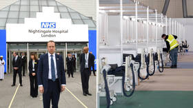 London's 4,000-bed Nightingale hospital to be SHUT after treating just 51 Covid-19 patients