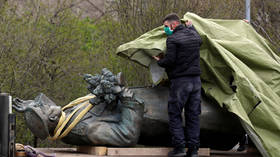 Russia waging 'HYBRID WAR' on Europe by protesting removal of Soviet liberator statue, claims Czech official who had it torn down