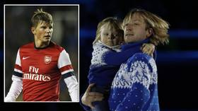 'I will beat you': Seven-year-old blasts 'WEAK' Arshavin after ex-Russia star accuses Olympic champ of forcing child into videos