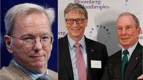 Government by billionaires? Cuomo names former Google CEO to join Gates & Bloomberg in drafting post-pandemic 'reforms'