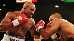 'My dance partner is a no show': Holyfield says Tyson has backed out of trilogy despite Iron Mike claiming that fight is on