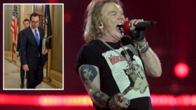 Welcome to the bungle: US treasury sec posts spectacular fail during Twitter row with G'n'R frontman Axl Rose
