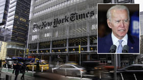 'Peak cringe': New York Times roasted for Biden 'hottest-bad-boy' election campaign strategy article