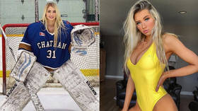 Not your average goalie: Meet Mikayla Demaiter, the 'world's hottest hockey player' (PHOTOS)