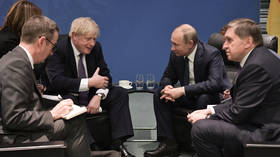 Positive sign? On VE Day, Putin and Johnson agree need to improve British-Russian relationship