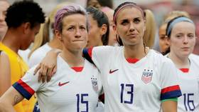 'It will be NOTHING LESS than equal': US women's soccer team vows to FIGHT BACK after equal pay claims were dismissed (VIDEO)