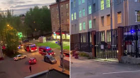 ICU death trap: One patient dies, 300 evacuated after fire breaks out at Covid-19 hospital in Moscow (VIDEOS)