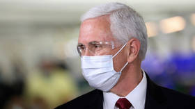 'Plans to be at WH tomorrow': Pence's office DENIES he's self-isolating over Covid-19 fears