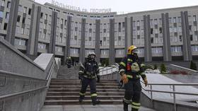 Fire erupts at Saint Petersburg Covid-19 hospital after ventilator malfunctions, 5 dead