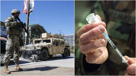 Define 'distribute'! Trump mobilizing MILITARY to deliver Covid-19 vaccine 'assuming we get it,' sparks conspiracy frenzy