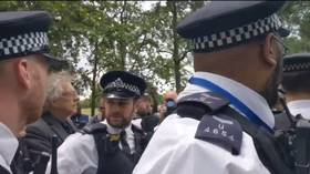 Jeremy Corbyn's brother arrested at anti-lockdown rally in Hyde Park rally as London police say protests 'not permitted' (VIDEOS)