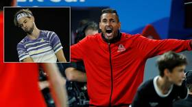 Points scoring: WATCH ball boy get the better of Novak Djokovic as pair play at controversial new tournament