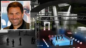 Backyard brawls: Promoter Eddie Hearn reveals plans to stage boxing events in his BACK GARDEN (PHOTOS)
