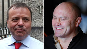 Ding! Ding! Round 1: Ex-England rugby star challenges Arron Banks to boxing match to settle Twitter spat