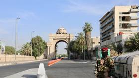 Rocket blast near US Embassy in Baghdad's Green Zone in first such incident in WEEKS – reports