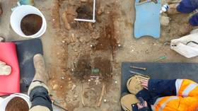 Tomb of jewelry-clad Iron Age 'PRINCESS' unearthed in France (PHOTOS)