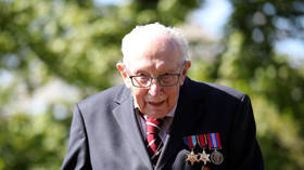 'I hope she's not very heavy handed with the sword': 100yo British veteran Cpt. Tom Moore on upcoming knighting by the Queen