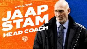 MLS team Cincinnati mocked with barrage of bald memes as they announce new manager Jaap Stam by posting photo of WRONG PERSON