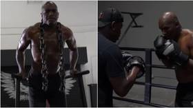 'Preparing for battle': 57yo Holyfield fires warning with new training VIDEO as talk of comeback fight vs Tyson gathers pace
