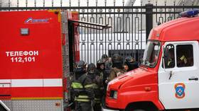 Over 70 people evacuated from hospital in Russian Far East after roof catches fire