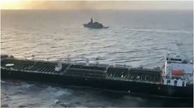 Iranian tanker DOCKS at Venezuelan port after braving stormy waters to deliver 1st fuel shipment despite US blockade