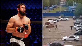 MMA fighter named among 9 arrested after SHOOTOUT with KALASHNIKOV rifles in Moscow (VIDEO)
