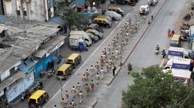 WATCH over 40 KG of explosives TEAR APART car as Indian police prevent terrorist massacre in Kashmir