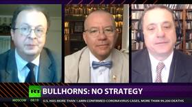 CrossTalk Bullhorns, QUARANTINE EDITION: No strategy