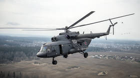 Crew killed in SECOND Russian military Mi-8 helicopter crash-landing within week