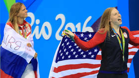 'Nice little change': Yulia Efimova's chief rival Lilly King trains in POND during coronavirus crisis