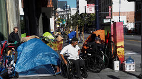 California homeless deaths multiply as Covid-19 lockdowns cut off access to medical care, food & sanitation