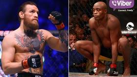 'It would go down in history': Conor McGregor ACCEPTS Anderson Silva fight at 176 pounds – days after calling MMA legend his GOAT