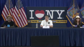 Cuomo desperately doles out celebs to sell new face mask executive order amid nursing home deaths debacle